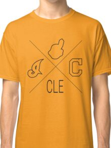 Cleveland Indians Fan Tshirt Classic T-Shirt
