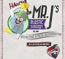 Mr. J's Plastic Surgery by Justin Jones