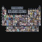Periodic Table of Final Fantasy Characters by ----User