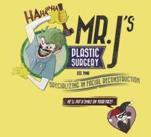 Mr. J's Plastic Surgery Kids Tee