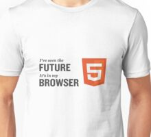 HTML5 Is The Future Unisex T-Shirt