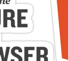HTML5 Is The Future Sticker