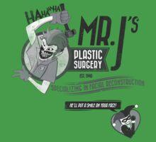 Mr. J's Plastic Surgery ( Black & White ) Kids Clothes