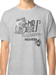 Mr. J's Plastic Surgery ( Black & White ) Classic T-Shirt