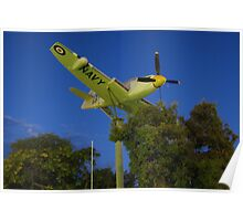 Griffith Fairey Firefly (2010) Poster