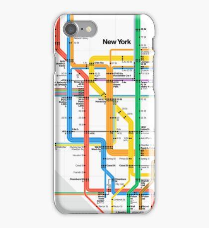 MTA Subway Map iPhone Case iPhone Case/Skin
