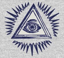 Illuminati, The All Seeing Eye by Magnus Juhl
