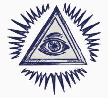Illuminati, The All Seeing Eye by Magnus Juhl