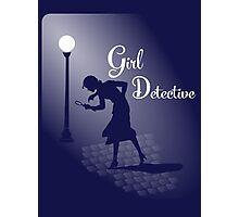 Girl Detective Photographic Print