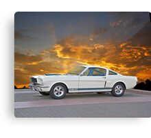 1966 Shelby Mustang G.T.350 Canvas Print
