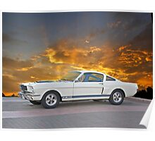 1966 Shelby Mustang G.T.350 Poster