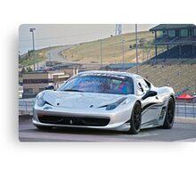 Ferrari 458 Challenge Canvas Print