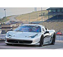 Ferrari 458 Challenge Photographic Print