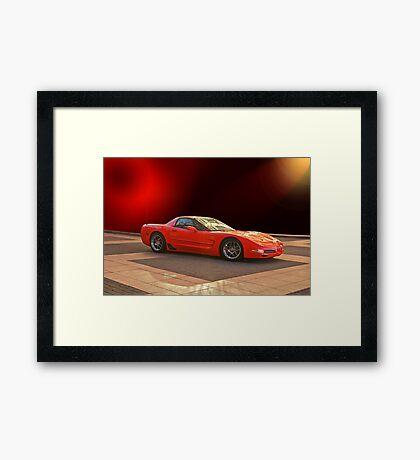 1997 C5 Chevrolet Corvette Z06 Framed Print