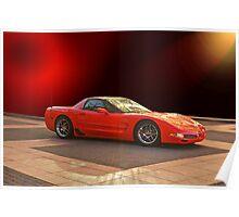 1997 C5 Chevrolet Corvette Z06 Poster