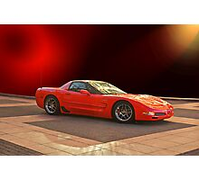 1997 C5 Chevrolet Corvette Z06 Photographic Print