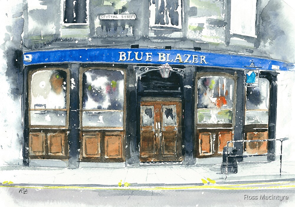Blue Blazer by Ross Macintyre