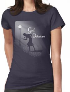 Girl Detective Womens Fitted T-Shirt