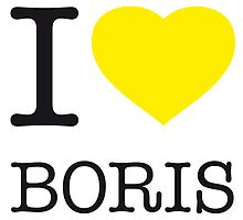 I ♥ BORIS by eyesblau