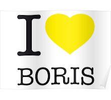 I ♥ BORIS Poster