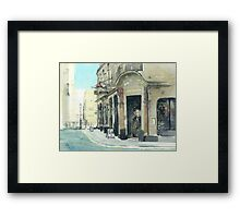 Cafe Royal Framed Print