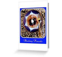 Blueberry Pancake Greeting Card