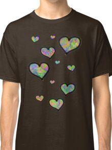 Colourful Hearts Classic T-Shirt