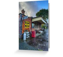 Olde Station Greeting Card
