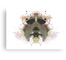 Michael Myers Halloween Mask Inkblot Canvas Print