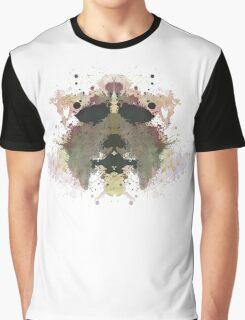 Michael Myers Halloween Mask Inkblot Graphic T-Shirt