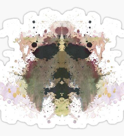 Michael Myers Halloween Mask Inkblot Sticker