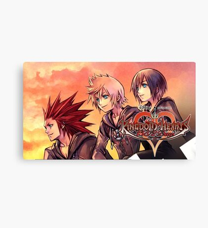KINGDOM HEARTS | 358/2 DAYS ! POSTER · the ice-cream trio Canvas Print
