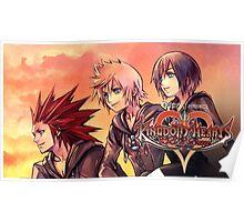 KINGDOM HEARTS   358/2 DAYS ! POSTER · the ice-cream trio Poster