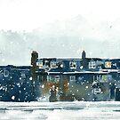 Edinburgh Snow 2 by Ross Macintyre