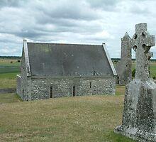 Ancient Ireland, cross by Maire Morrissey-Cummins