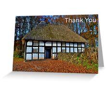 Aberonwydd Farmhouse - Thank You Card Greeting Card