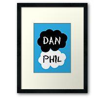 DAN & PHIL (Danisonfire & AmazingPhil) - TFIOS Design Framed Print