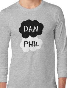 DAN & PHIL (Danisonfire & AmazingPhil) - TFIOS Design Long Sleeve T-Shirt