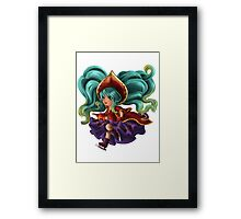 Silent Night Sona Framed Print