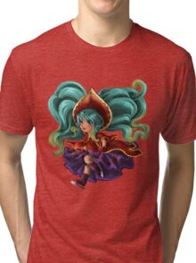 Silent Night Sona Tri-blend T-Shirt
