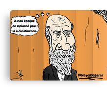 Chute de cheveux Président HAYES portrait webcomic Canvas Print