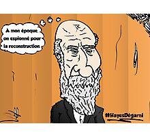 Chute de cheveux Président HAYES portrait webcomic Photographic Print