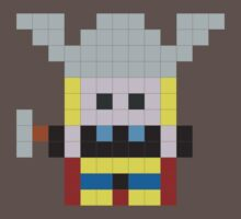 Pixel Art God of Thunder by jaredfin