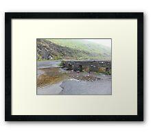 Kerry, Ireland, Bridge and river  Framed Print