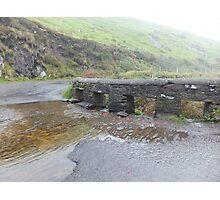 Kerry, Ireland, Bridge and river  Photographic Print