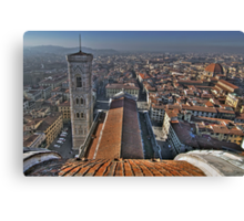 Florence Cathedral - Cathedral Square Canvas Print