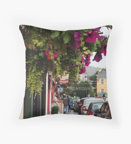 Kenmare Town, Kerry, Ireland Throw Pillow