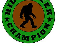 Bigfoot Hide And Seek Champion by kwg2200
