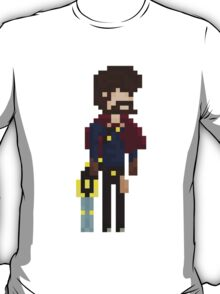 Graves, The Pixel Outlaw T-Shirt
