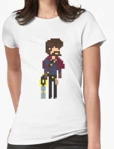 Graves, The Pixel Outlaw Womens Fitted T-Shirt